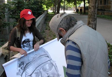 signing art