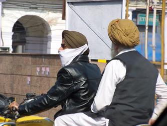 The Streets Of Delih - Bike Turbans