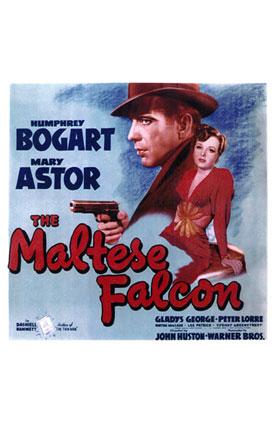c13670dd Starring Humphrey Bogart, Mary Astor, Sydney Greenstreet, Peter Lorre  Screenplay by John Huston based on the novel by Dashiell Hammett