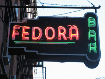 The Fedora Bar